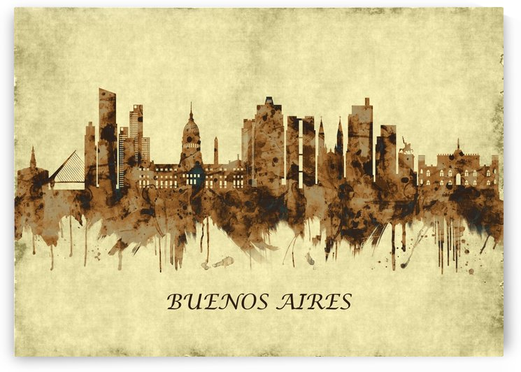 Buenos Aires Argentina Cityscape by Towseef Dar