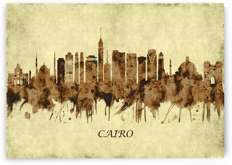 Cairo Egypt Cityscape by Towseef
