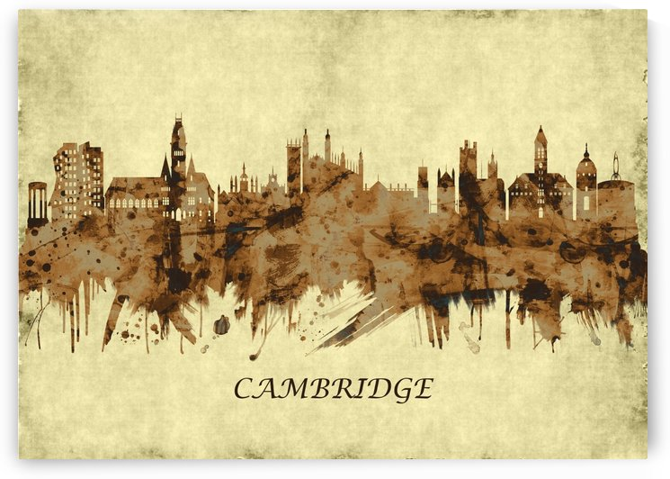 Cambridge England Cityscape by Towseef