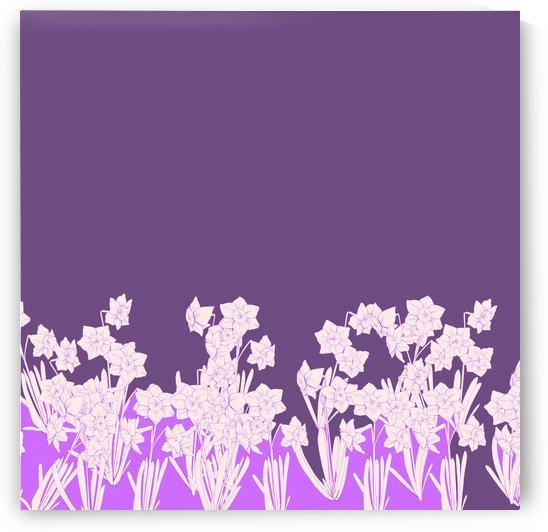 Purple flowers by Chino20