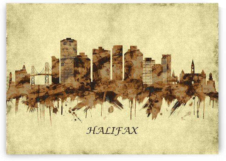 Halifax Canada Cityscape by Towseef
