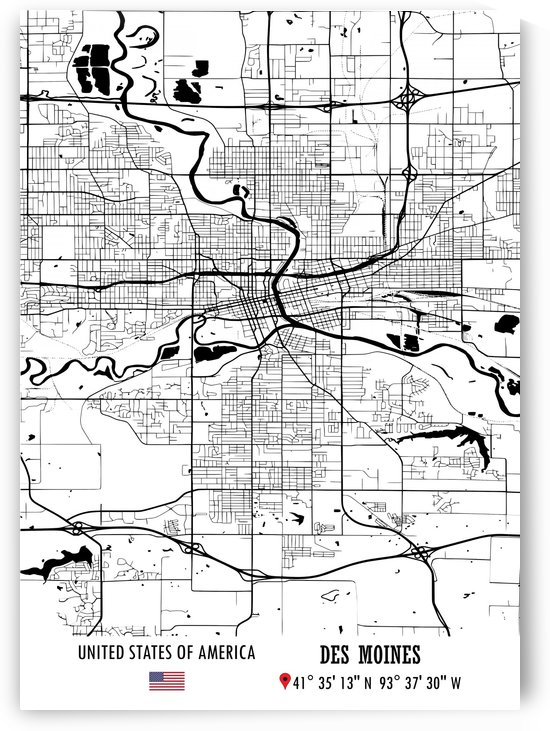 DES MOINES USA by Artistic Paradigms