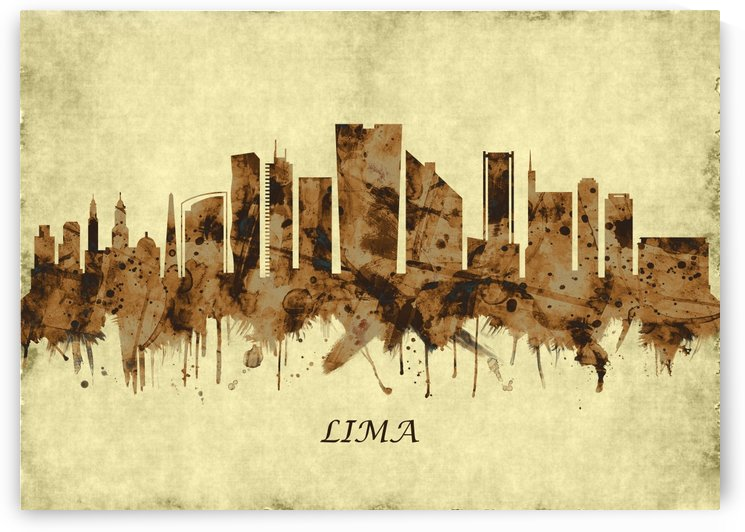 Lima Peru Cityscape by Towseef Dar