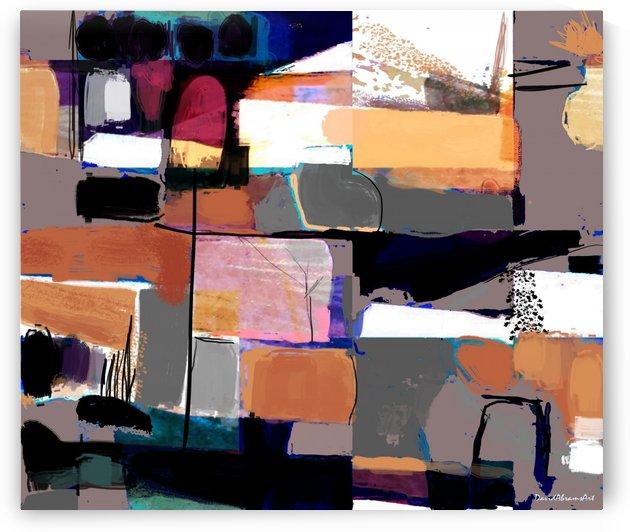 Abstract Mosaic by David Abrams Art