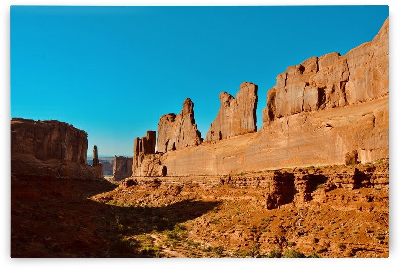 Courthouse Towers ... Arches National Park Utah by Fred J Bivetto