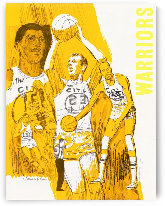 1969 San Francisco Warriors  by Row One Brand