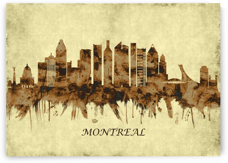 Montreal Canada Cityscape by Towseef