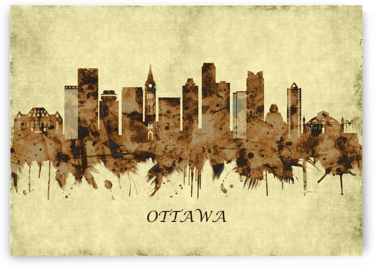 Ottawa Canada Cityscape by Towseef