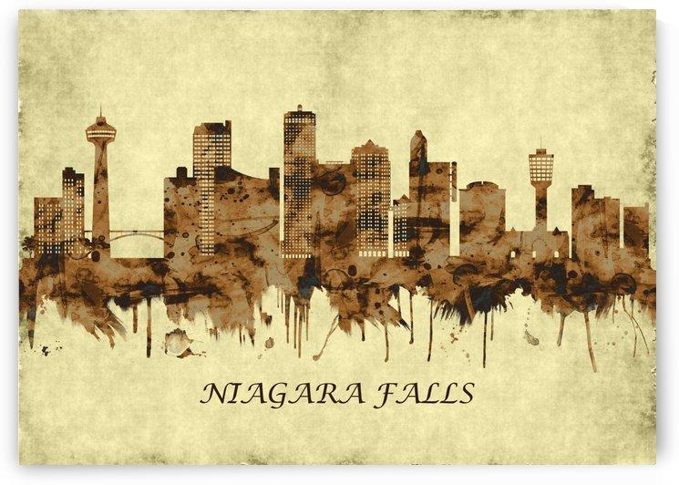 Niagara Falls Canada Cityscape by Towseef