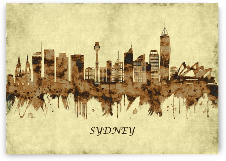 Sydney Australia Cityscape by Towseef