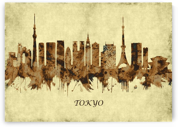 Tokyo Japan Cityscape by Towseef