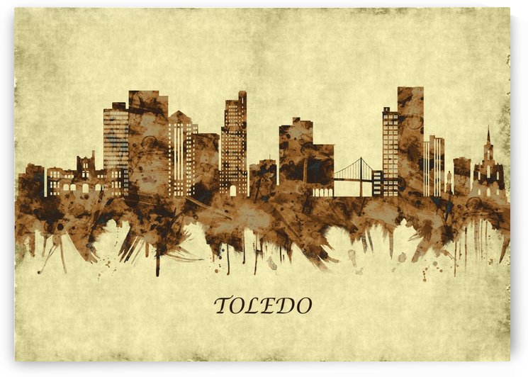 Toledo Ohio Cityscape by Towseef