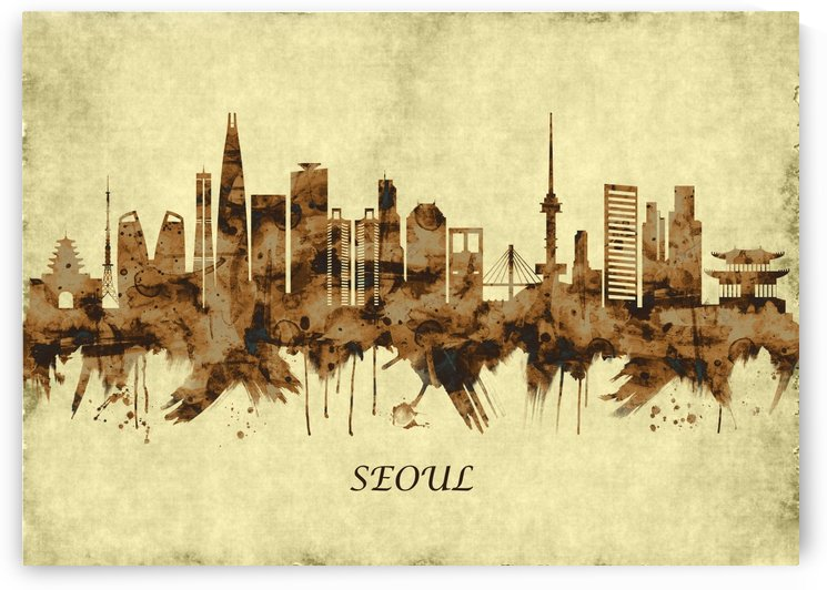 Seoul South Korea Cityscape by Towseef Dar