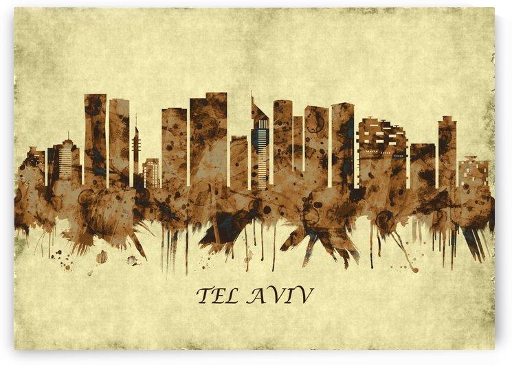 Tel Aviv Israel Cityscape by Towseef Dar