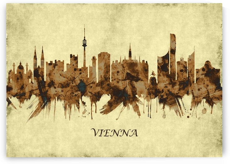 Vienna Austria Cityscape by Towseef