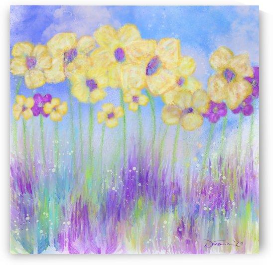 Field of Flowers by SunshyneArt
