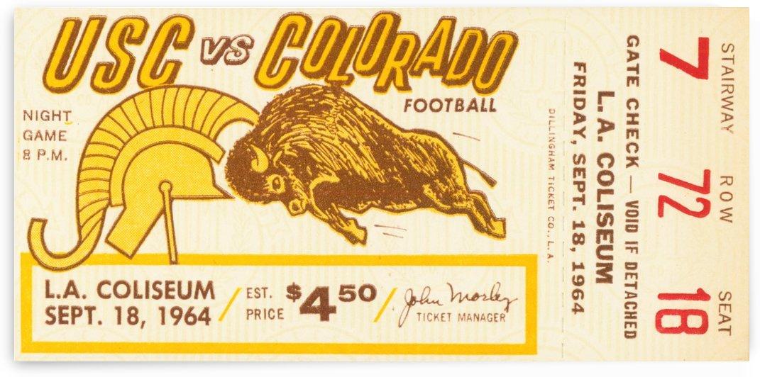 1964 USC vs. Colorado by Row One Brand