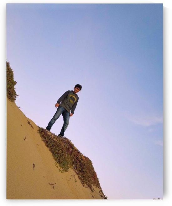Desert and sky by TazPix