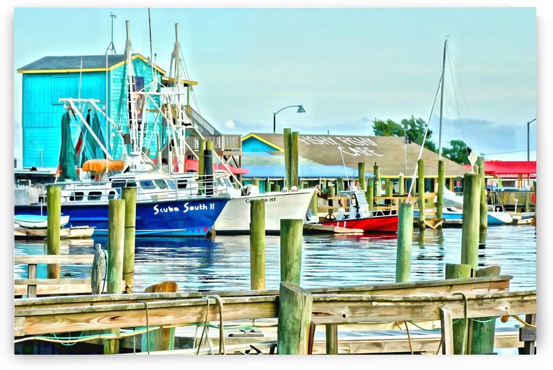 Fishy Fish  Cafe Harbor View by Don Margulis