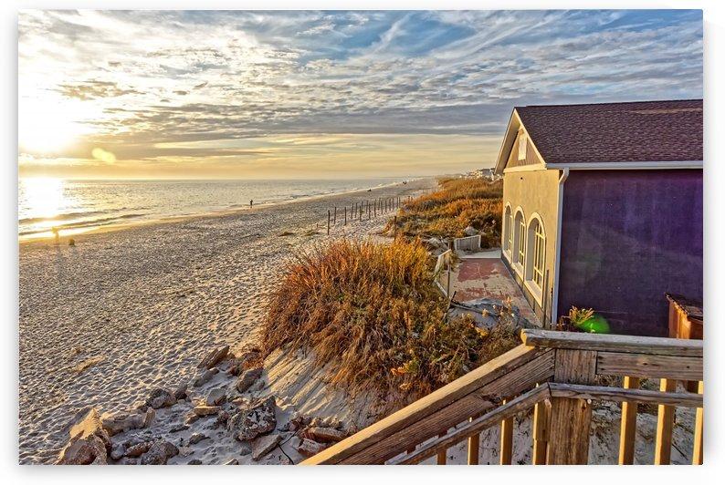 Oak Island Pier View by Don Margulis