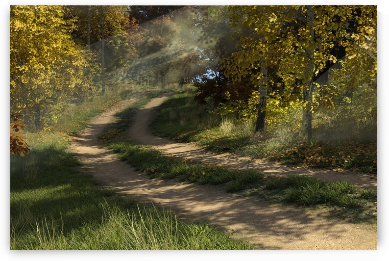 GoldenRoad by William D Panos Sr
