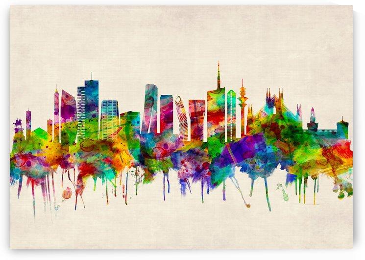 Milan Italy Skyline by Towseef Dar