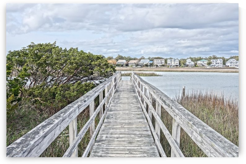 Oak Island Inlet Walkway by Don Margulis