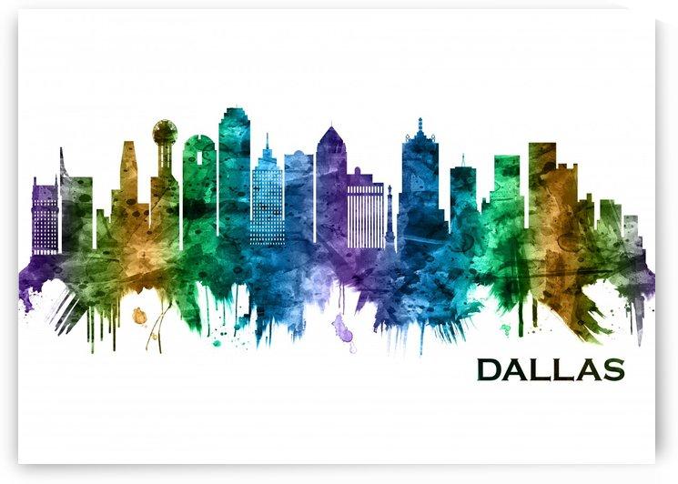 Dallas Texas Skyline by Towseef Dar