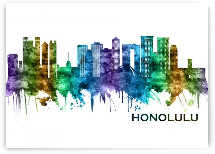 Honolulu Hawaii Skyline by Towseef Dar