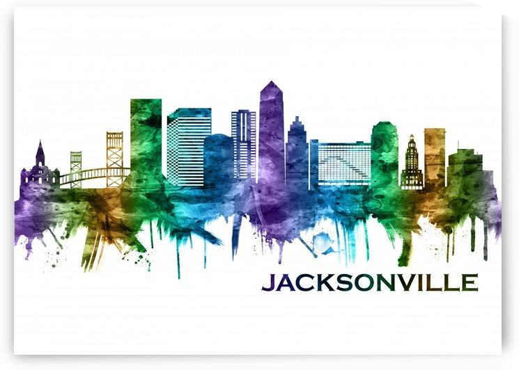 Jacksonville Florida Skyline by Towseef Dar