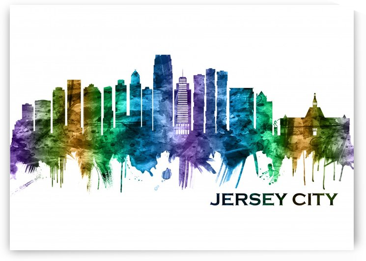 Jersey City New Jersey Skyline by Towseef Dar