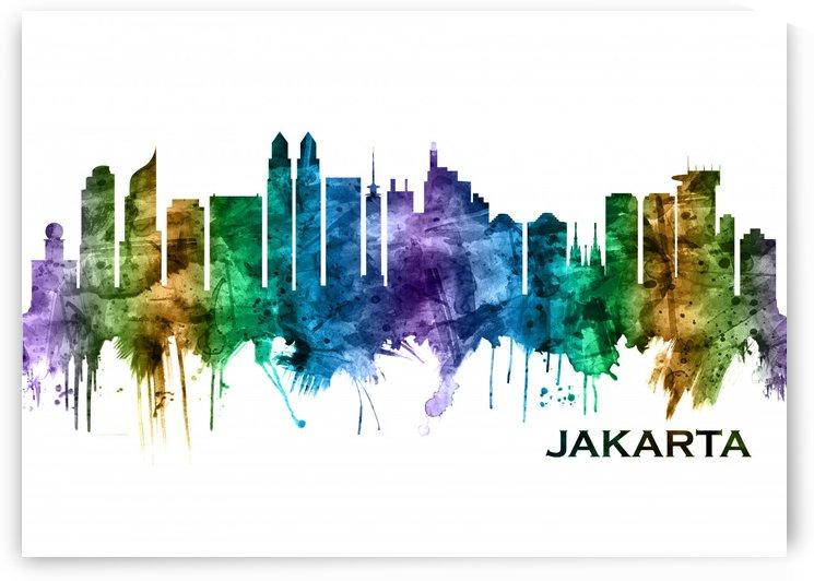Jakarta Indonesia Skyline by Towseef Dar