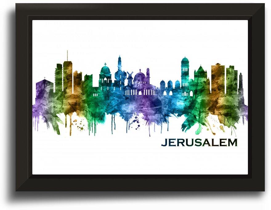 Jerusalem Israel Skyline by Towseef Dar