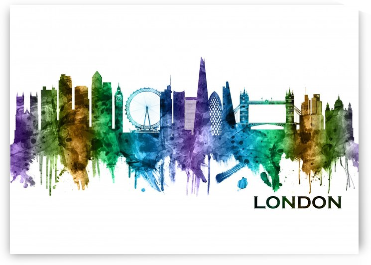 London England Skyline by Towseef Dar