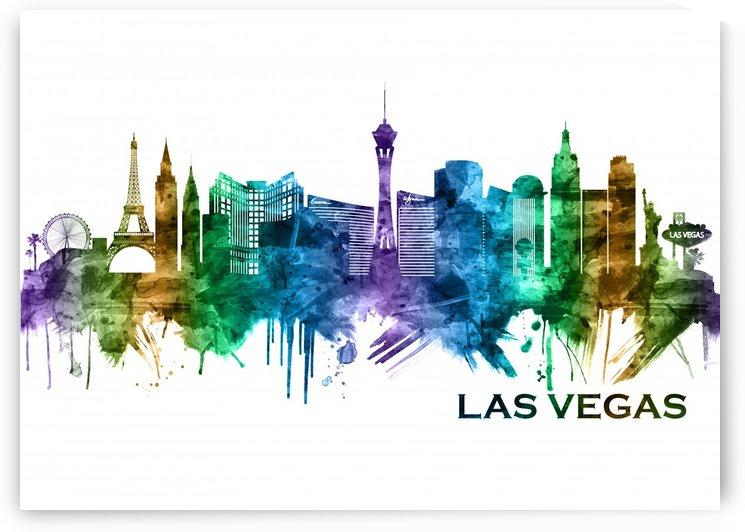 Las Vegas Nevada Skyline by Towseef Dar