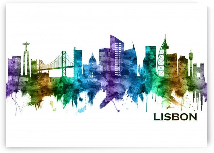 Lisbon Portugal Skyline by Towseef Dar