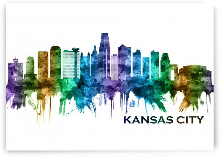 Kansas City Missouri Skyline by Towseef Dar