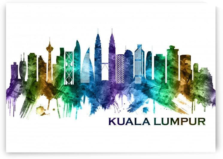 Kuala Lumpur Malaysia Skyline by Towseef Dar