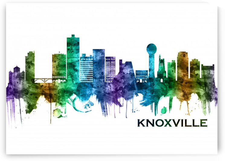 Knoxville Tennessee Skyline by Towseef Dar