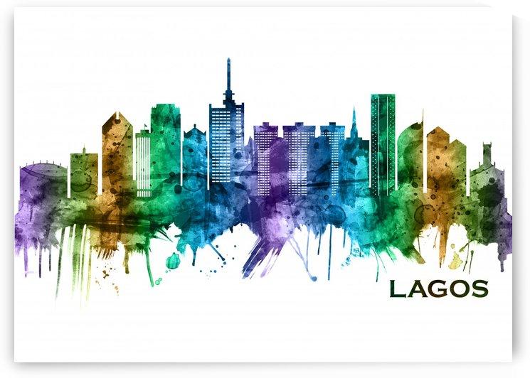 Lagos Nigeria Skyline by Towseef Dar