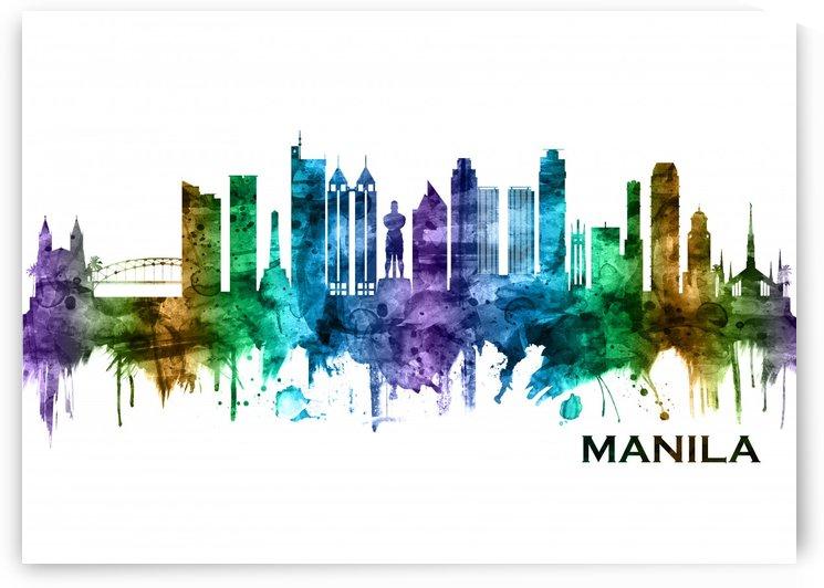 Manila Philippines Skyline by Towseef Dar