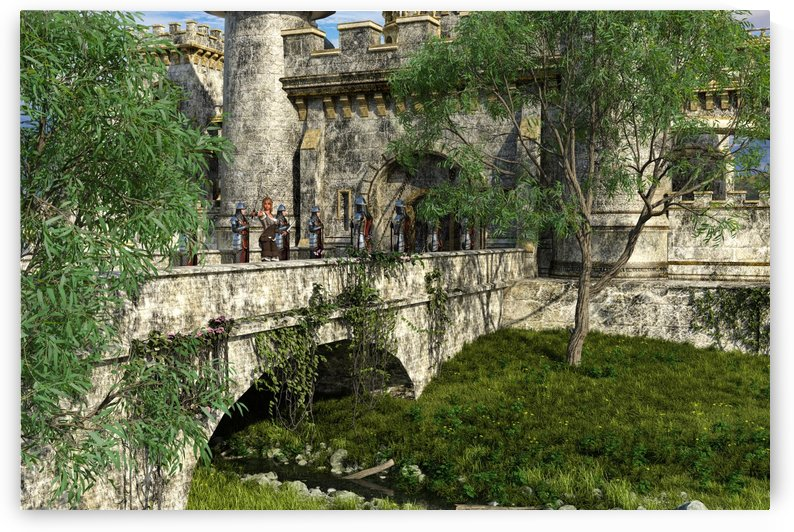 Castle by William D Panos Sr
