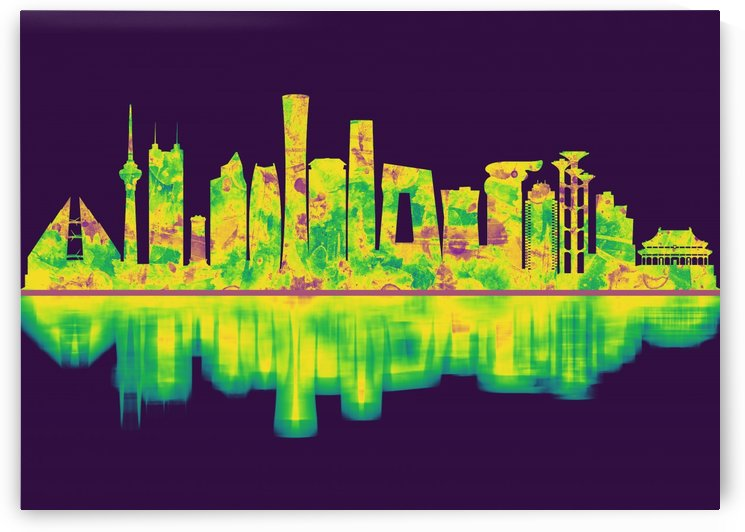 Beijing China Skyline by Towseef Dar