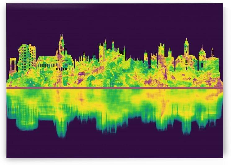 Cambridge England Skyline by Towseef Dar