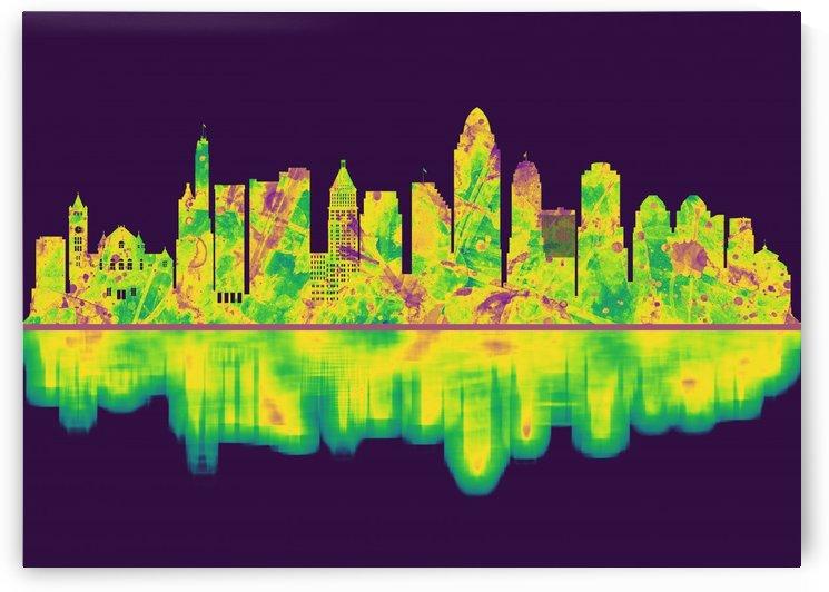 Cincinnati Ohio Skyline by Towseef Dar
