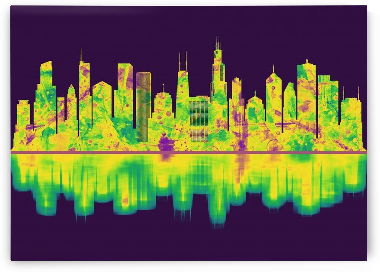 Chicago Illinois Skyline by Towseef Dar