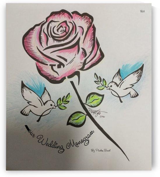 Art Monogram Rose Color 1 by pinchos tewel