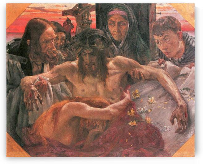 Crucify by Lovis Corinth by Lovis Corinth