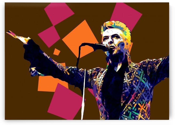 David Bowie POP ART Collection 10 by RANGGA OZI