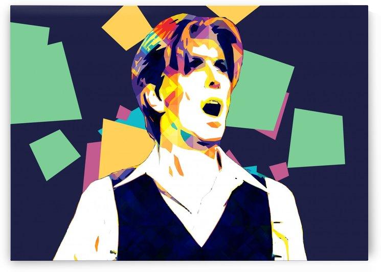 David Bowie POP ART Collection 7 by RANGGA OZI